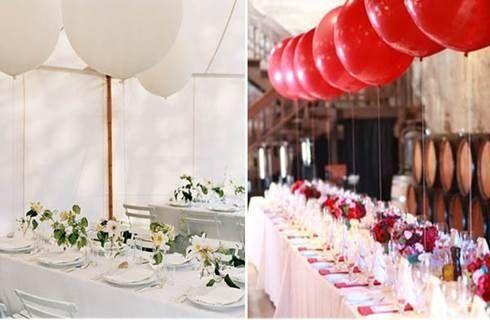 Idee con i palloncini organizzazione matrimonio forum - Decorazioni matrimonio palloncini ...