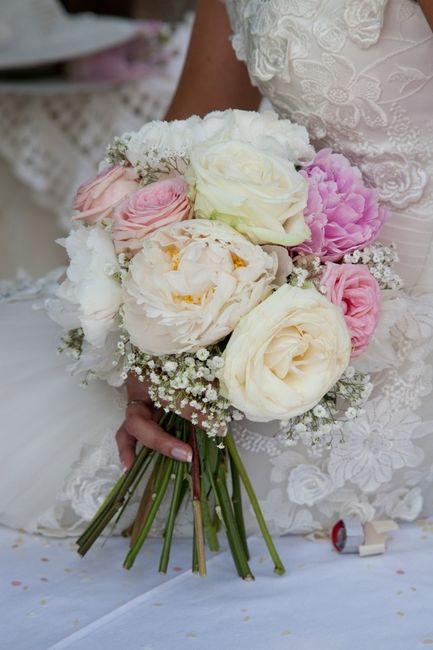 Addobbi Floreali Matrimonio Country Chic : Il mio bouquet e gli addobbi floreali shabby chic neo