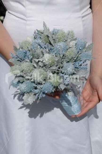 bouquet effetto neve