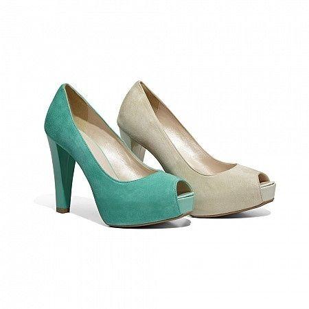 le mie scarpe nuziali color tiffany