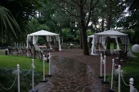 location... parco con pioggia