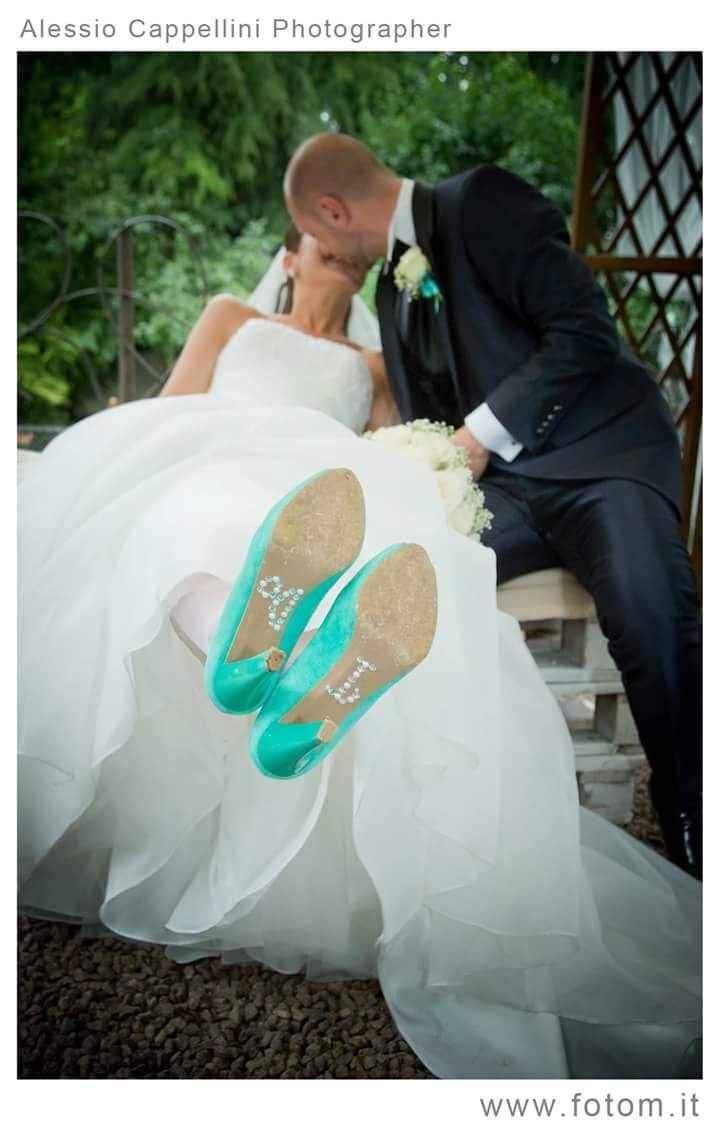 Scarpe blu tiffany!!!! - 1