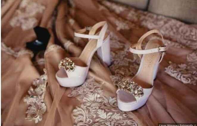 Destination wedding: le scarpe della sposa - 1