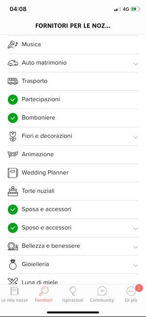 Condividi lo screenshot dei tuoi fornitori 6