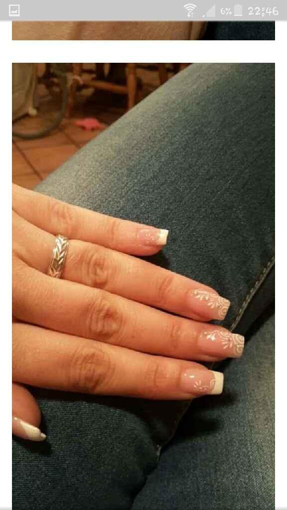 Manicure unghie sposa - 3