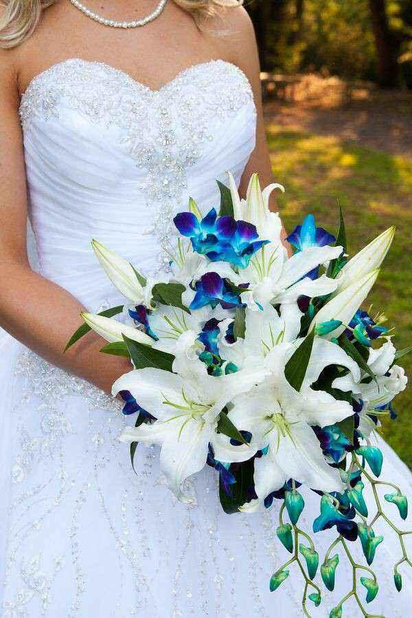 Il bouquet da sposa secondo il tema delle nozze - 1