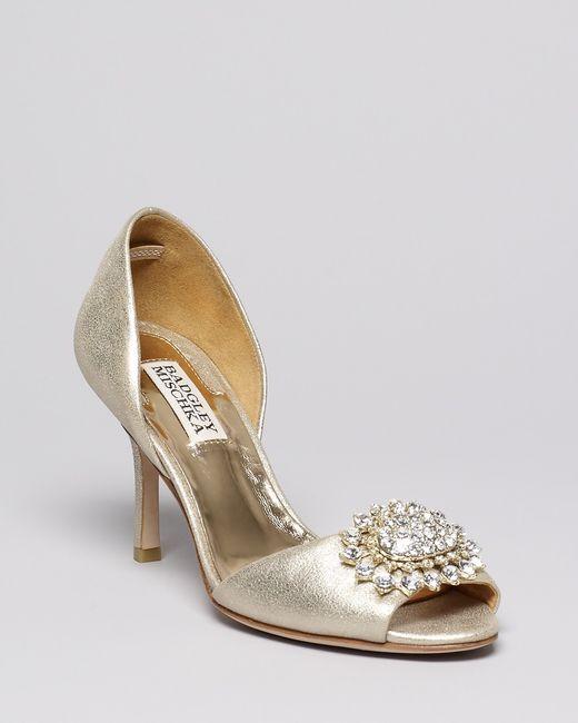 Matrimonio Tema Pizzo : Scarpe sposa colore oro platino champagne moda nozze