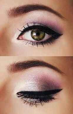 Trucco occhi verdi e pelle chiara - 2