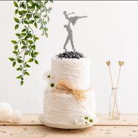 Cake topper 💞 - 1