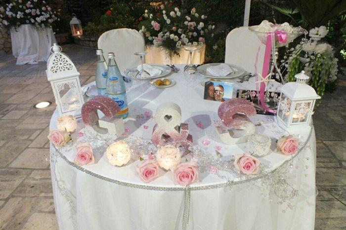 Decorazioni per il tavolo degli sposi forum for Decorazioni tavoli matrimonio