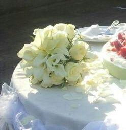 Scelta del bouquet: bianco/bianco-verde.. - 1