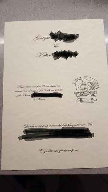 invito cerimonia