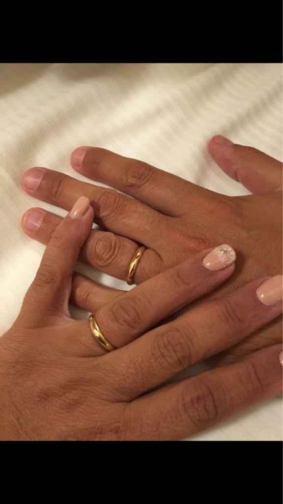 Eccoci qui marito e moglie, ed ora si parte?! chissà - 7