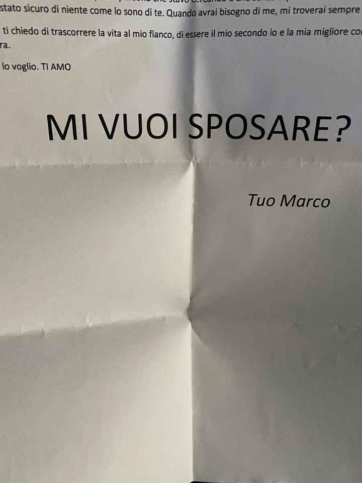 Proposta di matrimonio 💍 - 1