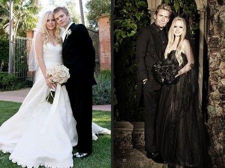 Avril Lavigne Matrimonio In Nero : Matrimonio avril lavigne matrimonio