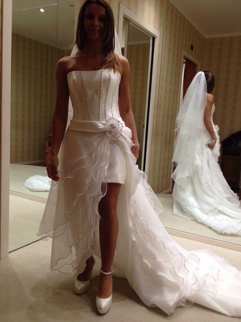 Abito da sposa 18 - stile 2 abiti in 1 (dual dress) 1
