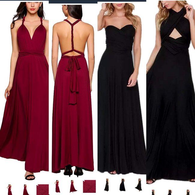 8251c4801c9c Vestito damigelle modello diverso ma stesso colore - Moda nozze ...