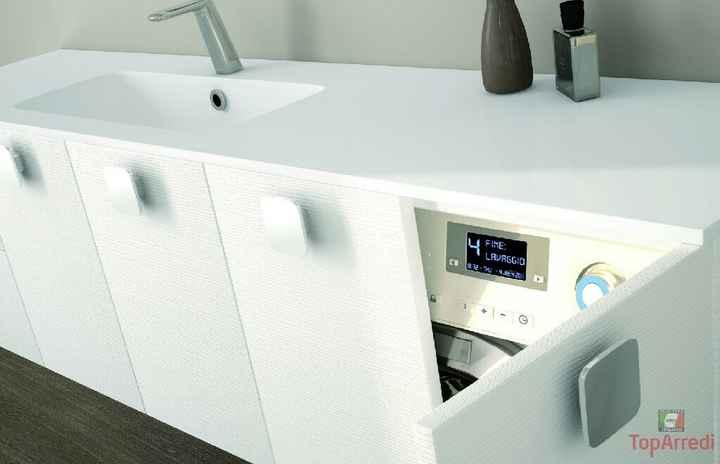 Lavatrice, lavatoio e bagno ospiti - 2