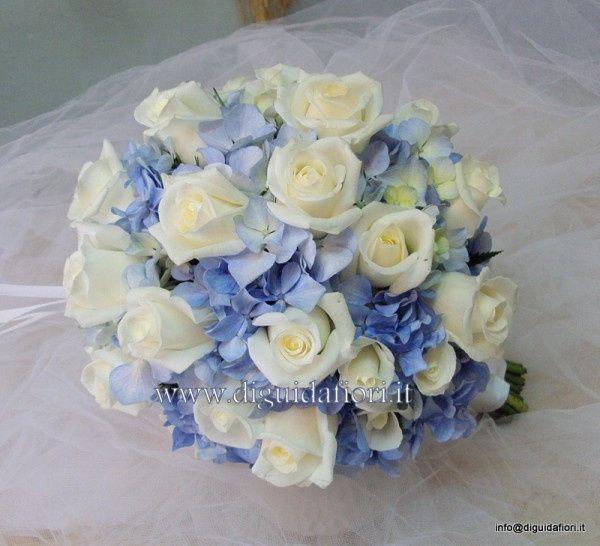 Matrimonio Azzurro E Rosa : Bouquet ortensia organizzazione matrimonio forum