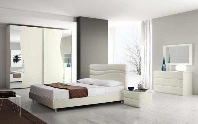 Lampadario e abat jour coordinati camera da letto bellissima