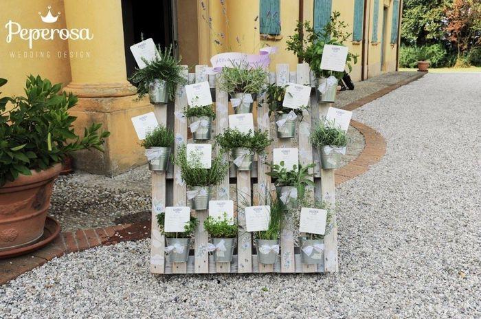 Tableau Matrimonio Tema Erbe Aromatiche : Tableau ricevimento di nozze forum matrimonio