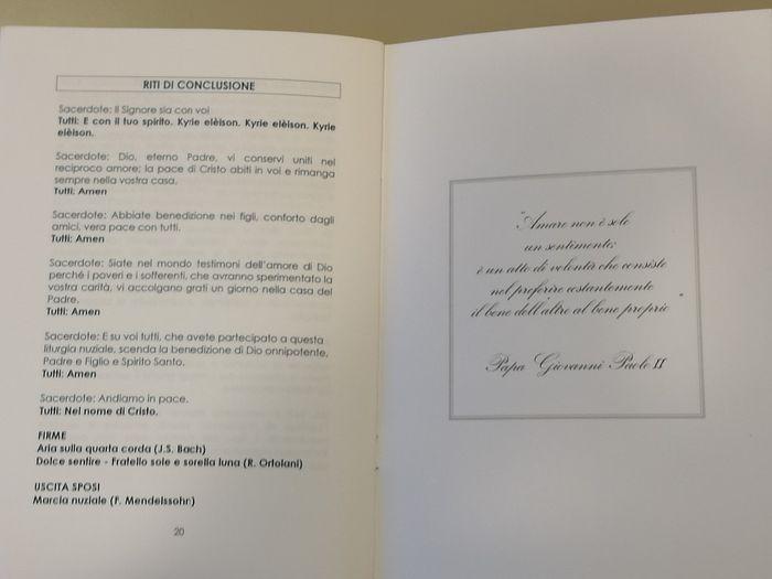 Frasi Matrimonio Libretto Chiesa.Libretto Messa Fai Da Te Forum Matrimonio Com