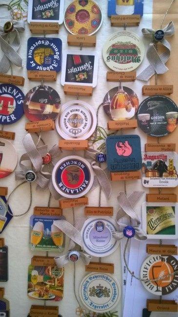 Matrimonio Tema Birra : Il mio fai da me tema birra tableau segnatavoli menù e
