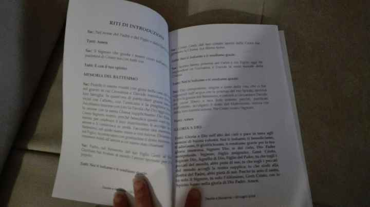 Libretto messa stampato!!! - 1