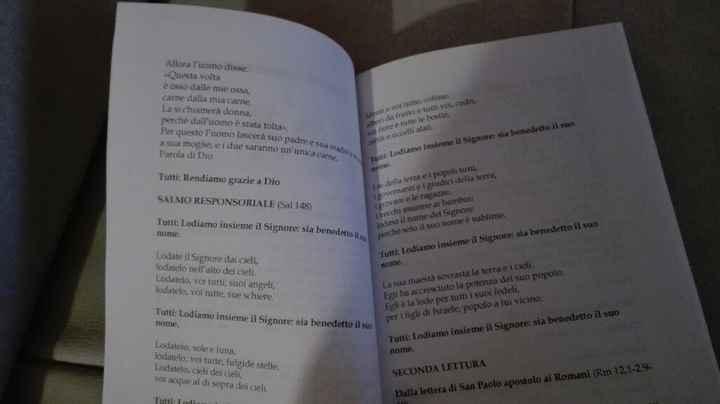 Libretto messa stampato!!! - 3