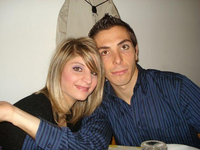 La prima foto di voi due da fidanzati - 1