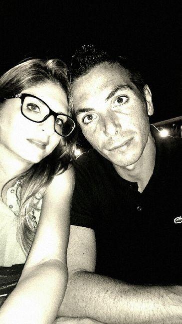 La prima foto di voi due da fidanzati - 2