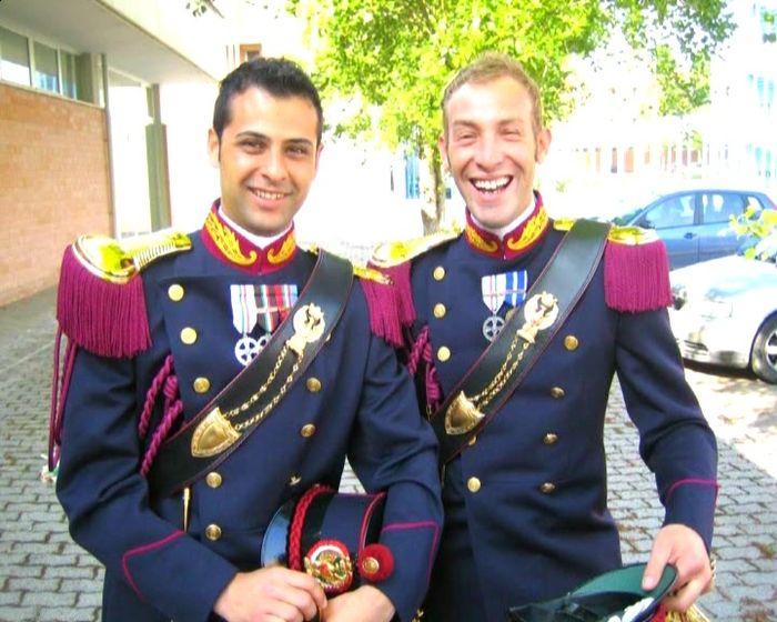 Gus grande uniforme storica polizia di stato - Foto