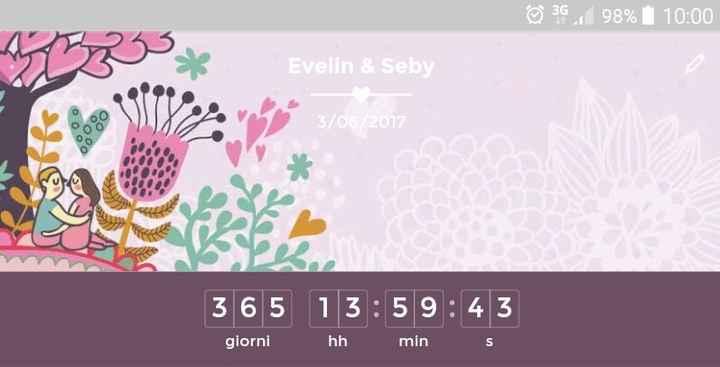 Meno 365 giorni!!!!!!!! - 1