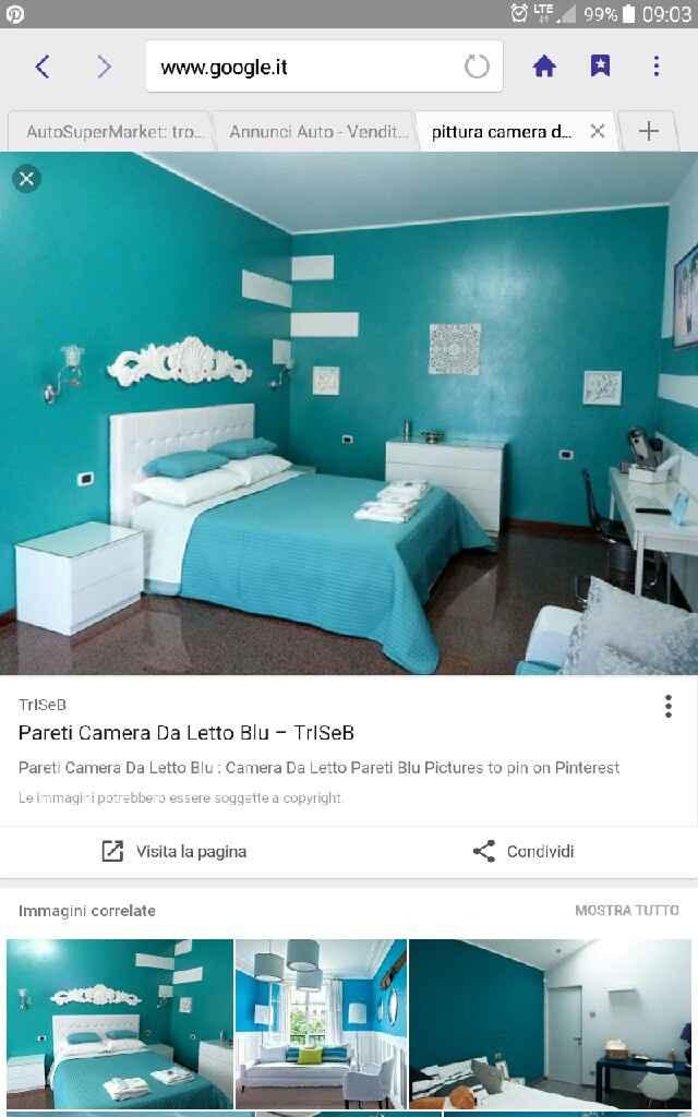 Colore pareti camera da letto - 1