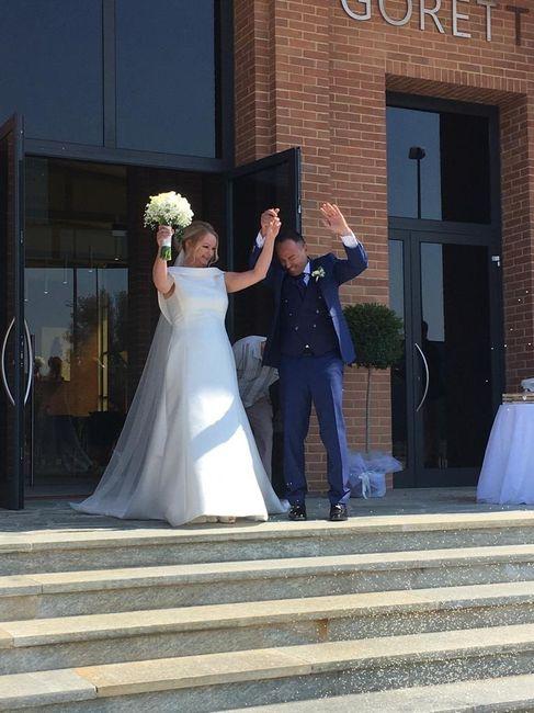 Siamo sposati. Finalmente 😃😁😊😝🥰 1