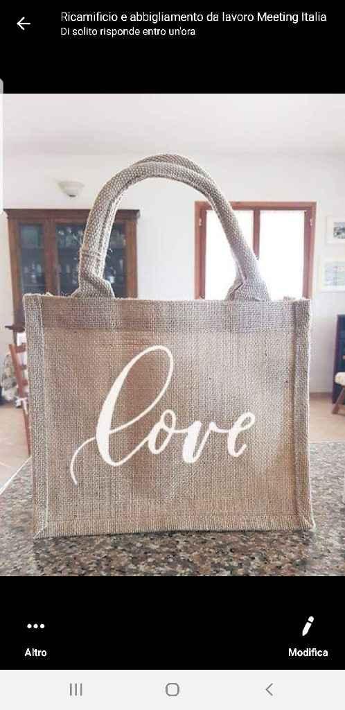 Wedding bag sì o no - 1