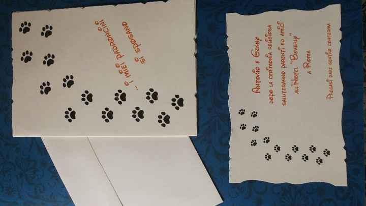 Partecipazioni scritte in prima persona dal nostro labrador - 1