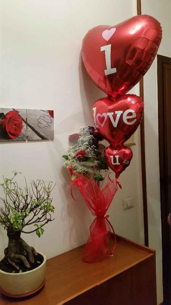 Cosa vi ha regalato per san valentino il vostro futuro maritino e voi invece cosa avete fatto per lu