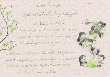 lista nozze