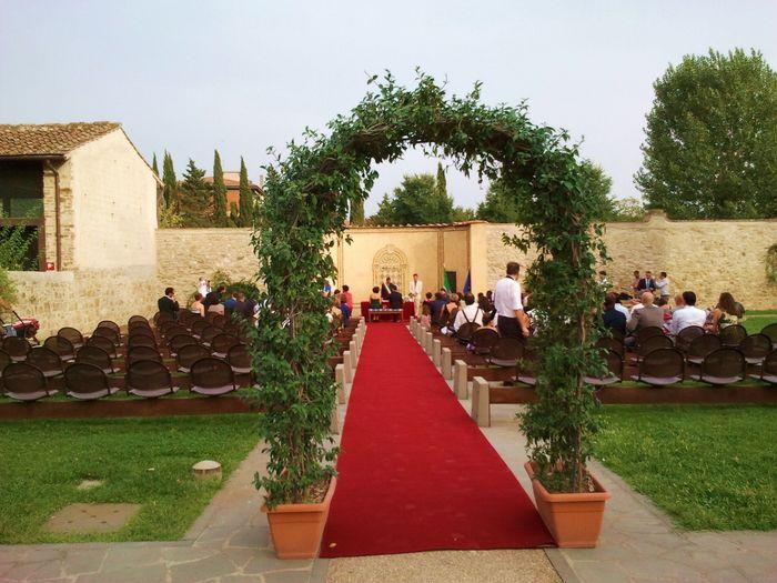 il posto per la mia cerimonia!