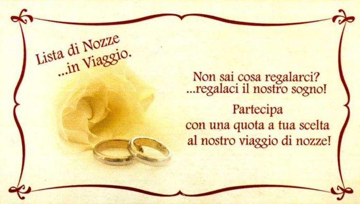 Auguri Matrimonio Lista Viaggio : Lista nozze viaggio iban sposi luna di miele forum