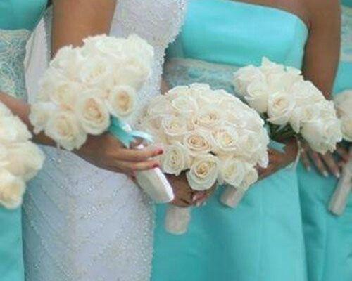 Matrimonio In Verde Tiffany : Tema mare e colore verde tiffany organizzazione