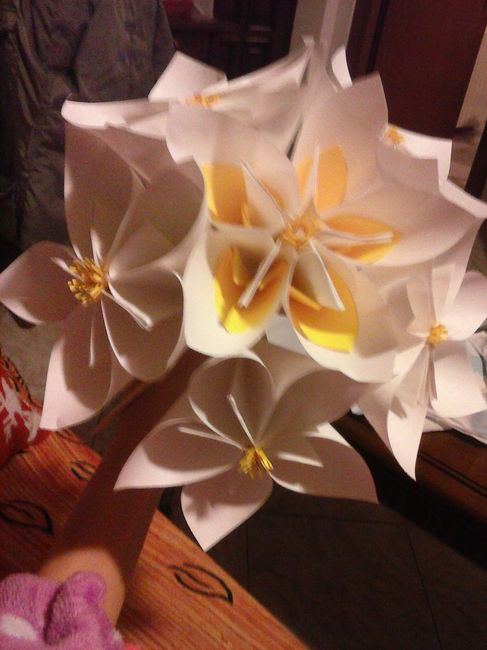 Il mio bouquet di origami per il lancio - 1