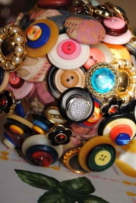 Il mio bouquet di bottoni