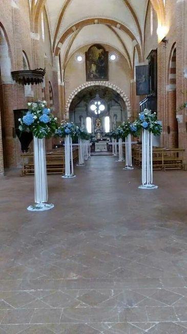 Decorazioni Matrimonio Azzurro : Decorazioni chiesa organizzazione matrimonio forum