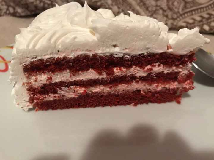 """La tanto """"sudata"""" prima prova della torta nuziale! - 1"""
