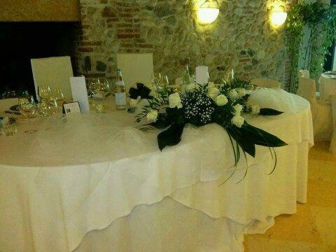 Tavolo degli sposi foto ricevimento di nozze for Tavolo degli hobby