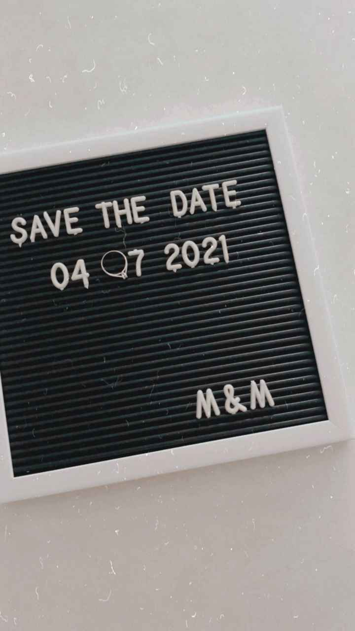 Save the date 💌 - 2