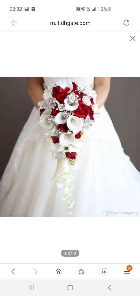 Bouquet a cascata - 1