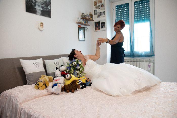 Foto della Camera da letto il giorno delle nozze 8